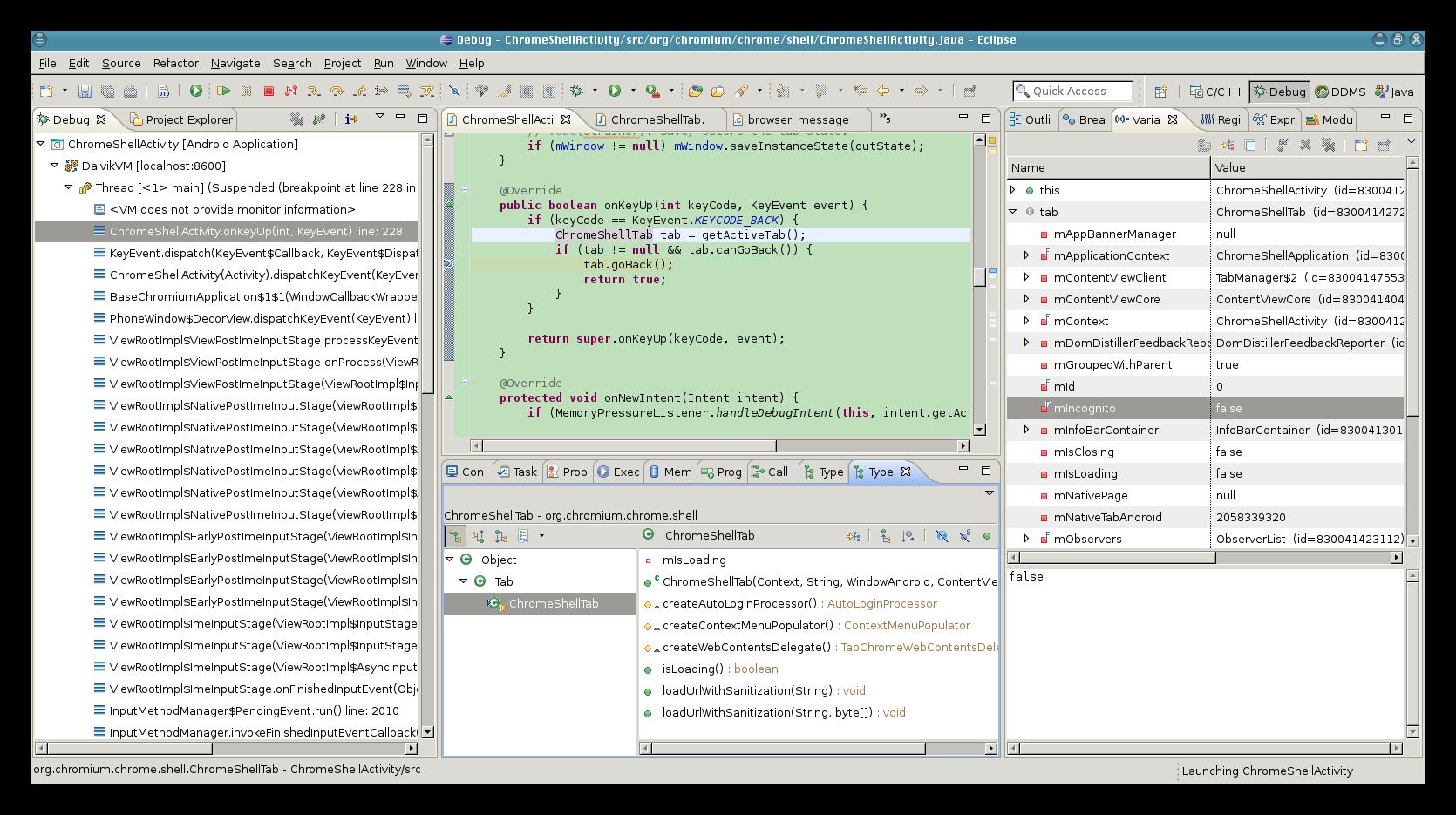 Chromium – Happy coding