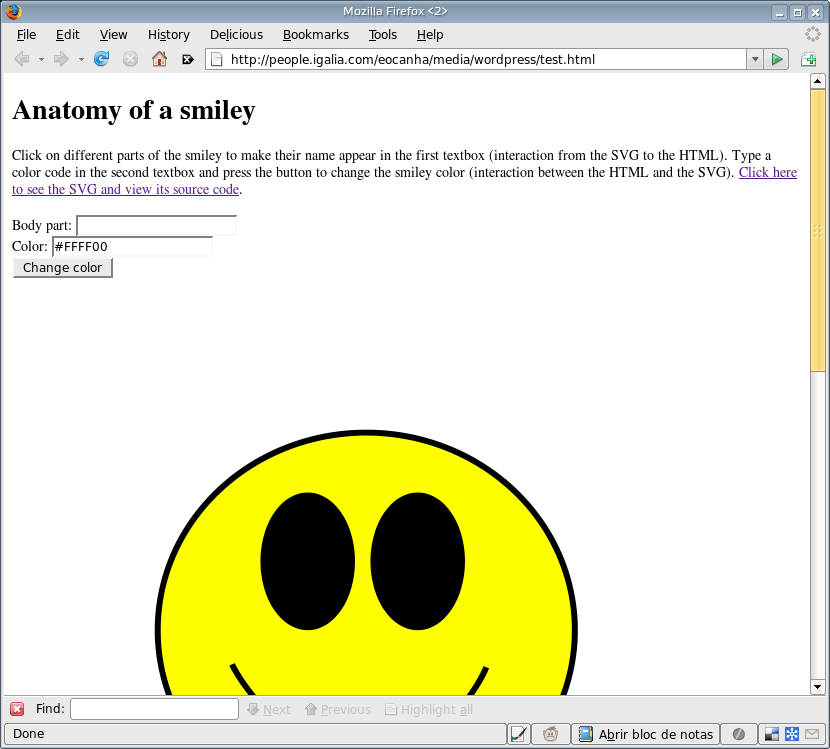 How To Interact With An Svg Image From An Html Document Happy Coding